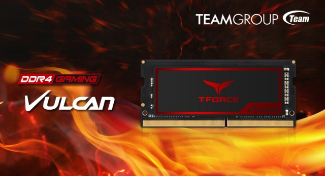 TEAMGROUP Releases Exclusive Memory Module T-FORCE VULCAN