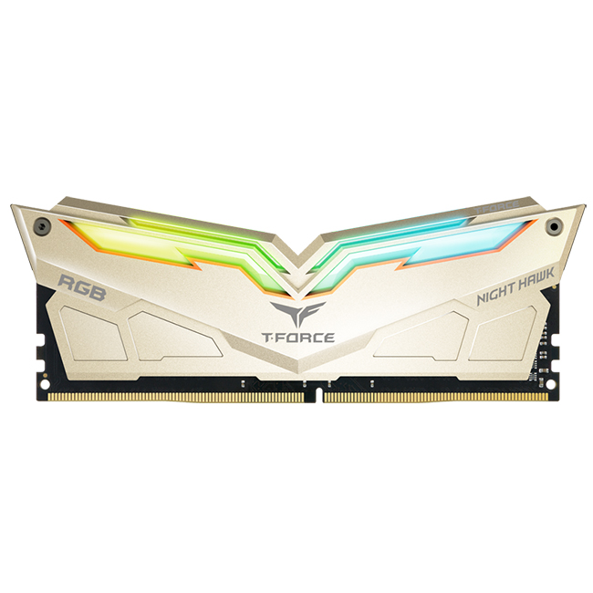 NIGHT HAWK RGB / LED DDR4 desktop memory modules,rgb ram