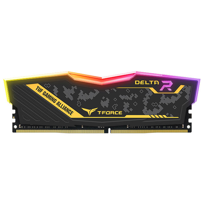 DELTA TUF Gaming RGB DDR4 overclocking memory│TEAMGROUP