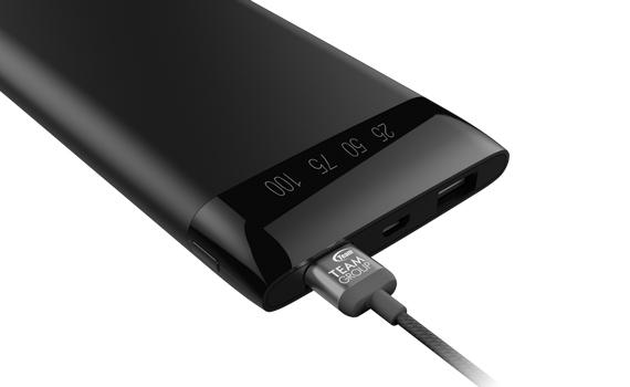 Power digital LED indicator thoughtfully reminds you the remaining battery life