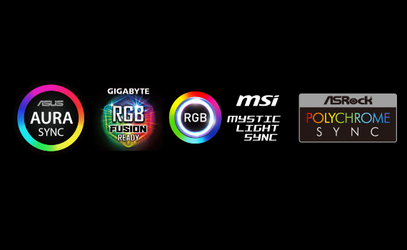 T-FORCE DELTA S RGB SSD (12V) can show a single color change in sync with the motherboard light effects