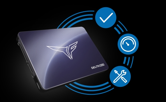Ổ cứng SSD Team T-FORCE DELTA MAX 500GB 2.5inch LED