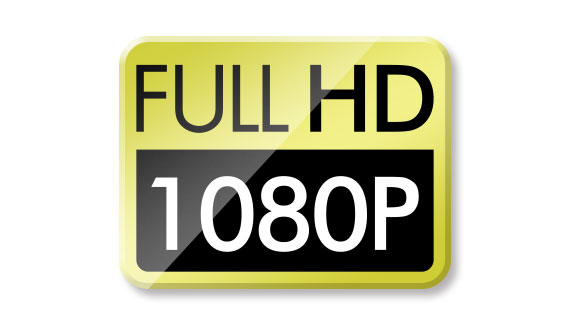 Most suitable for FULL HD video recording