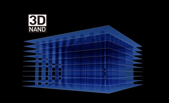 3D NAND technology. Tough protection