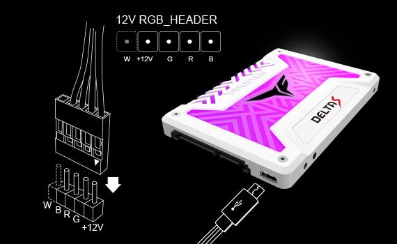 T-FORCE DELTA S RGB SSD(12V)