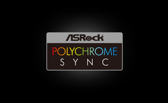 Supports ASRock Polychrome Sync software and motherboard lighting effect synchronization