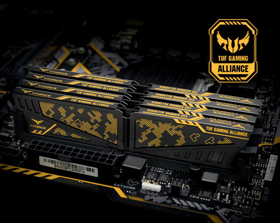 VULCAN TUF Gaming Alliance DDR4 overclocking desktop memory modules