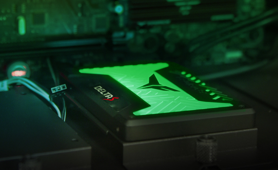 RGB SSD with creative patent