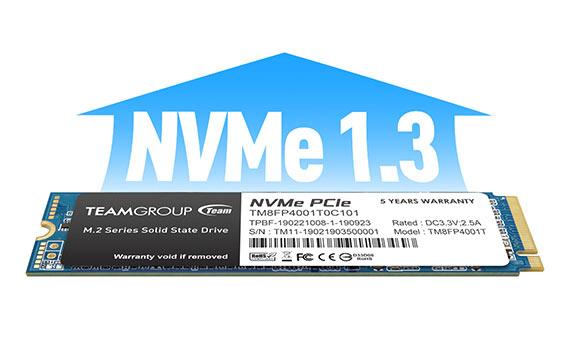 Support NVMe1.3 standard