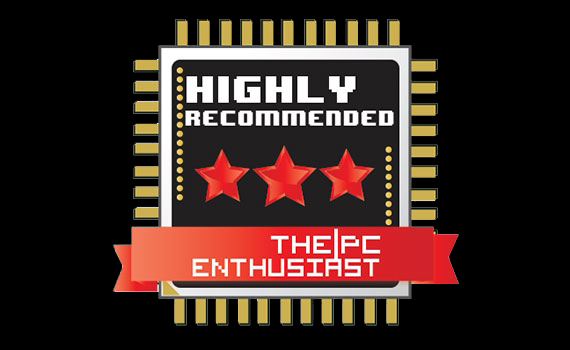 [ Awards and Reviews ]  THE PC ENTHUSIAST