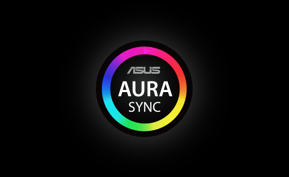 Supports ASUS Aura Sync software and motherboard lighting effect synchronization