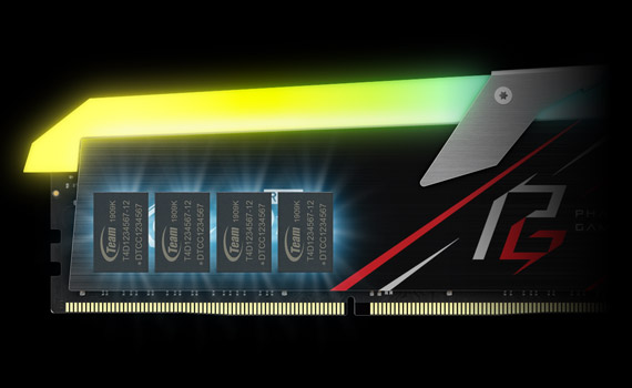 XCALIBUR RGB PHANTOM GAMING DDR4 DESKTOP MEMORY | TEAMGROUP