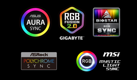 T-FORCE DELTA RGB SSD(5V) Supports Variety Kinds of Controlled Software