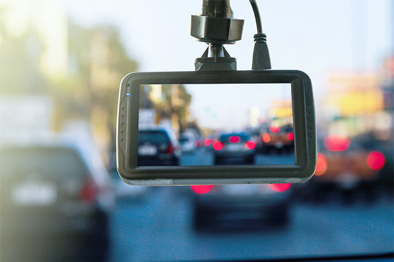 Special memory card for dash cams